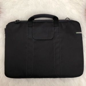 INCASE Black Padded Computer Bag Briefcase
